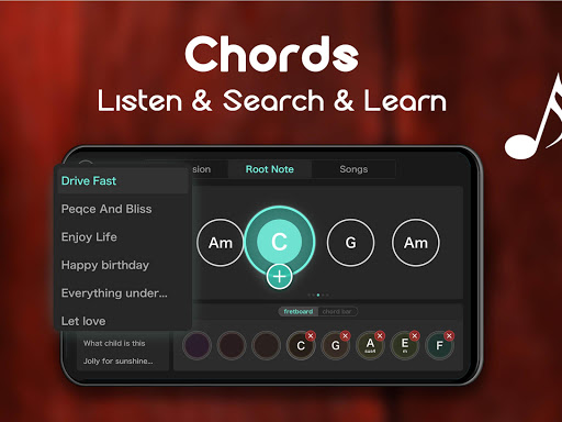 Real Guitar - Free Chords, Tabs & Music Tiles Game 1.5.3 screenshots 15