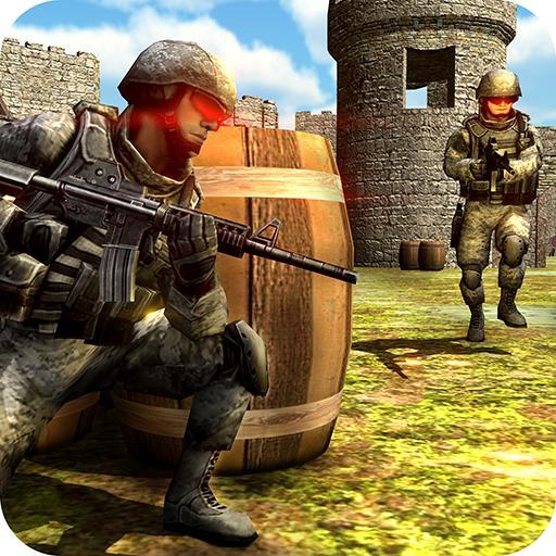 Army Elite Commando Action Shooter Gun War 2017