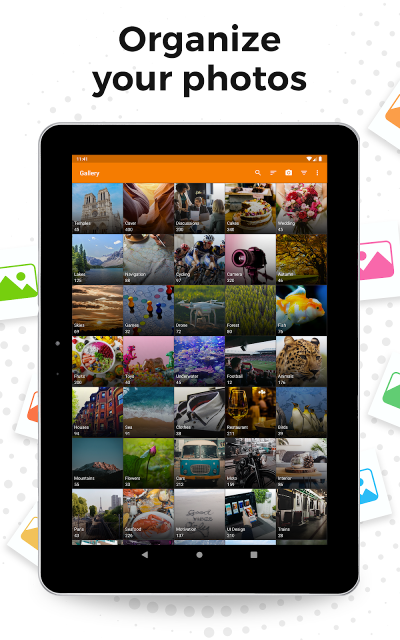 Simple Gallery Pro: Photo Manager & Editor Screenshot 5