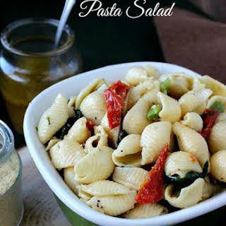 Pine Nuts Pasta Salad.
