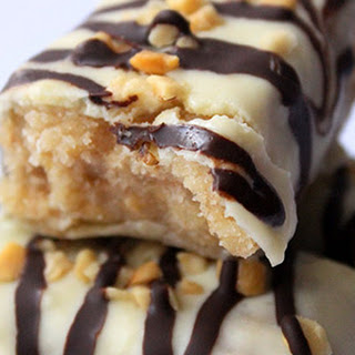 White Chocolate Almond Protein Bars.