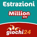 Estrazioni Million Day icon