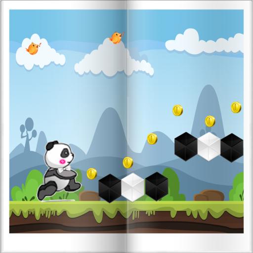 Panda Ninja Running