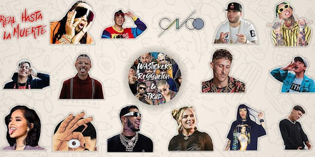 WAStickers Reggaeton & Trap (Stickers WhatsApp) Screenshot