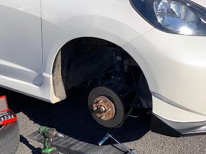 フィット GE8 RSのブレーキローターのカスタム事例画像 murAta Yuziさんの2019年01月15日12:55の投稿