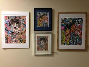 Photo: Leslie Sher Artwork Apr. 2013 Weissman Center