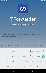 TForwarder - auto message forwarding for telegram