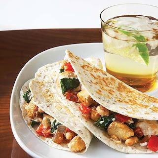 Chicken, Spinach & Ricotta Quesadillas Recipe