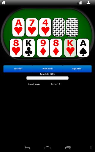 Poker Hands Trainer 3.0.4 screenshots 1