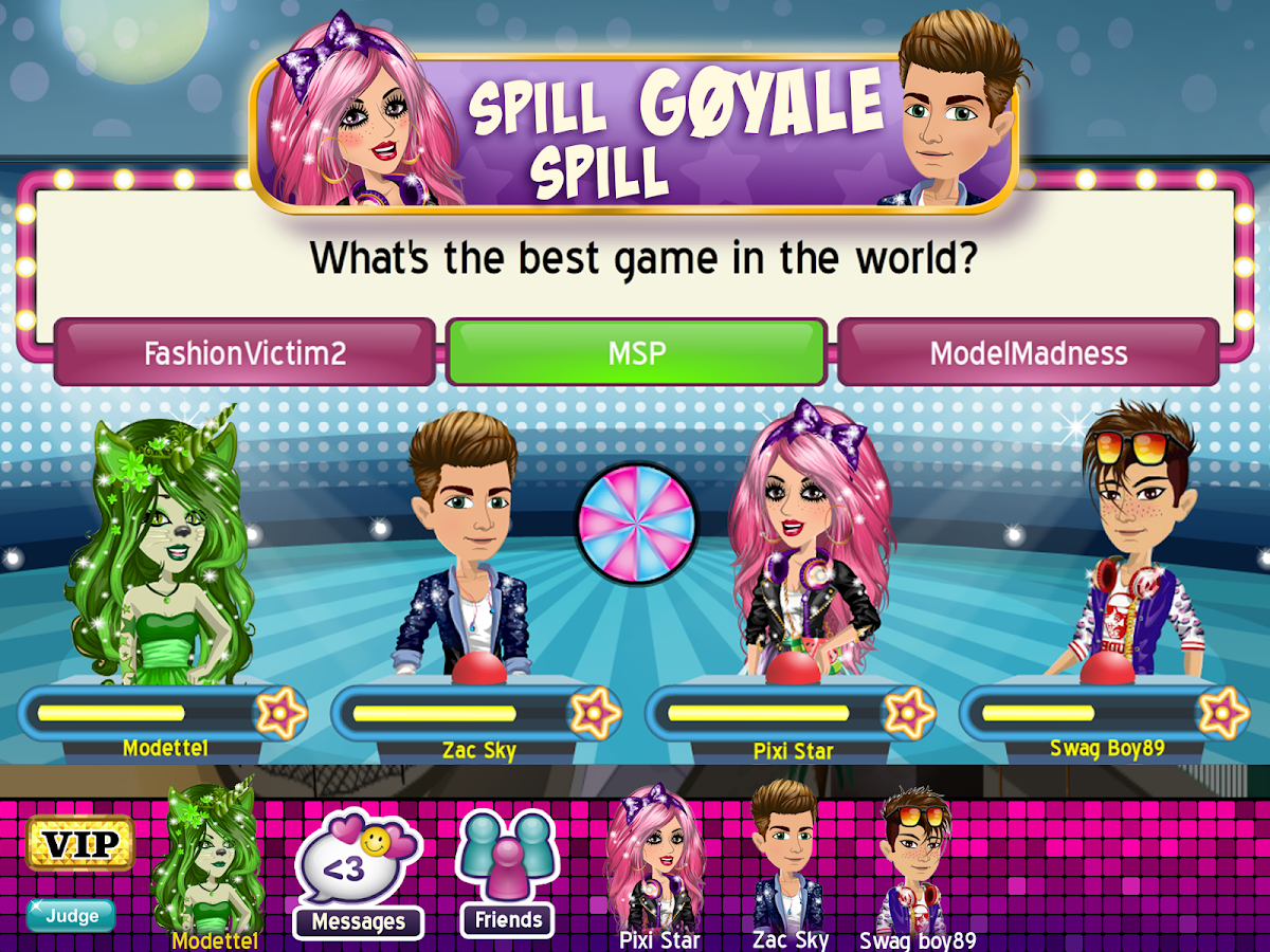 how to get free clothes on msp app