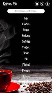Kahve Falı - Kahve Fali - náhled