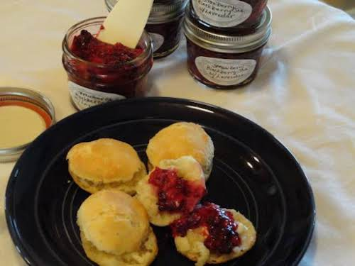 "Strawberry Blackberry Jam with Lavender ""It is incredible! Be sure to use..."