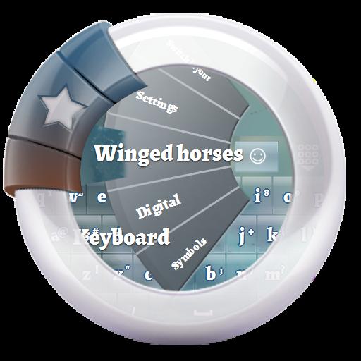 翼のある馬 GO Keyboard 個人化 App LOGO-APP試玩
