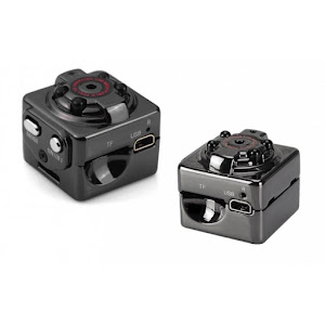 Mini camera Full HD SQ8 cu senzor de miscare si stabilizator imagine