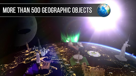 Globe Map 3D VR- screenshot thumbnail