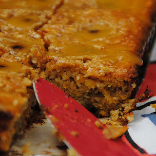 Banana and Toffee Sticky Cake (using butternut squash).