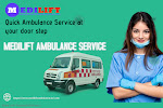 Easy Haulage of Patients by Ambulance Service in Sri Krishna Puri by Medilift
