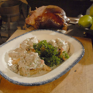 Virginia Ham and Oysters