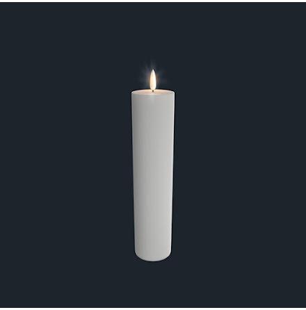 UYUNI Pelarljus LED - Vit - 5,8 x 25 CM