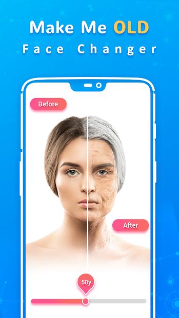 Make Me Old Android App Screenshot