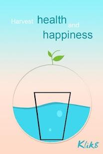 Klik8 - Drink water reminder, Wasser trinken - náhled