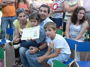 Photo: Os mais pequenos receberam certificados