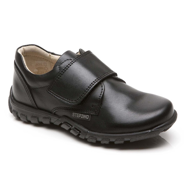 Jagger - Hook and Loop Leather Shoe