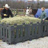 Horse Hay Feeder - Square Poly Panels (2 panels)