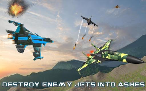 US Air Force Military Pilot Sky Battle 3D filehippodl screenshot 10