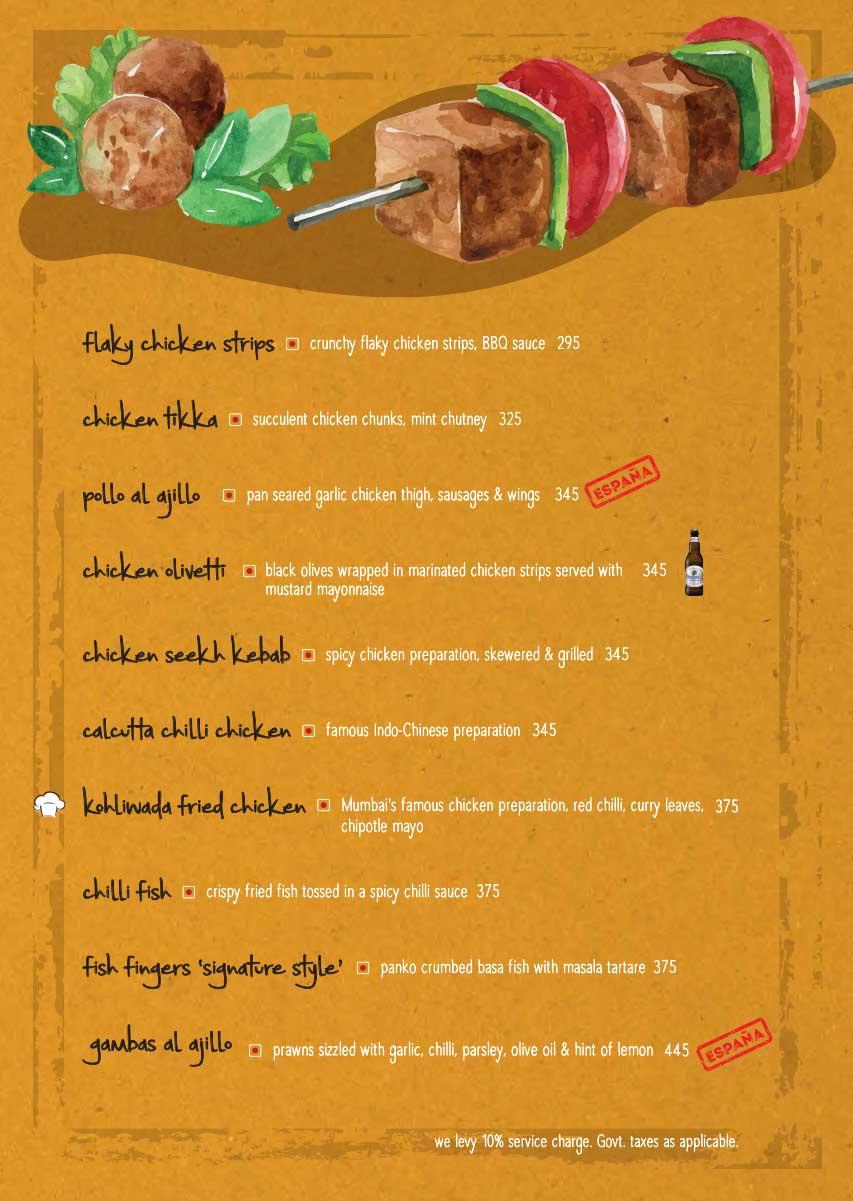 The Beer Cafe menu 5