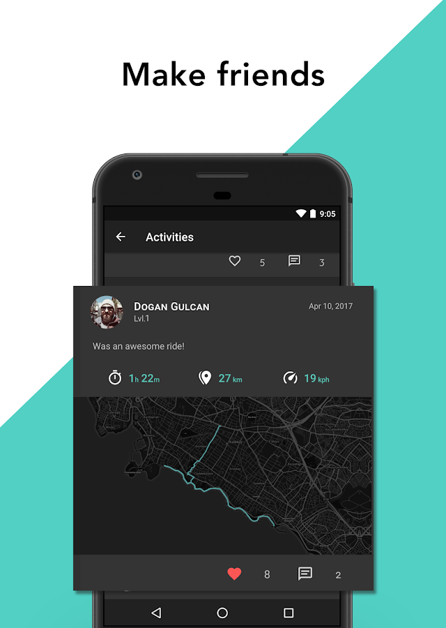 Paxira - Cycling GPS Tracker (Unreleased)- screenshot