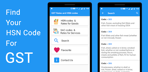 Gst rates and hsn codes apps on google play for Interior decoration hsn code gst