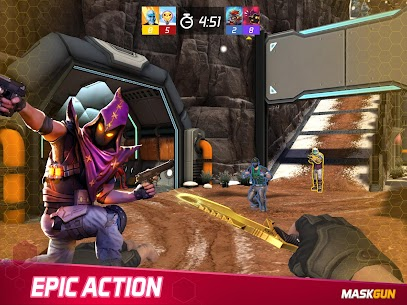 MaskGun Multiplayer FPS Mod Apk 2.826 (Unlimited Ammo) 8