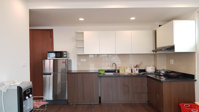 Shiny 1 – bedroom apartment with balcony in Linh Lang street, Ba Dinh district for rent