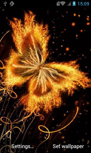Magic butterfly Live Wallpaper