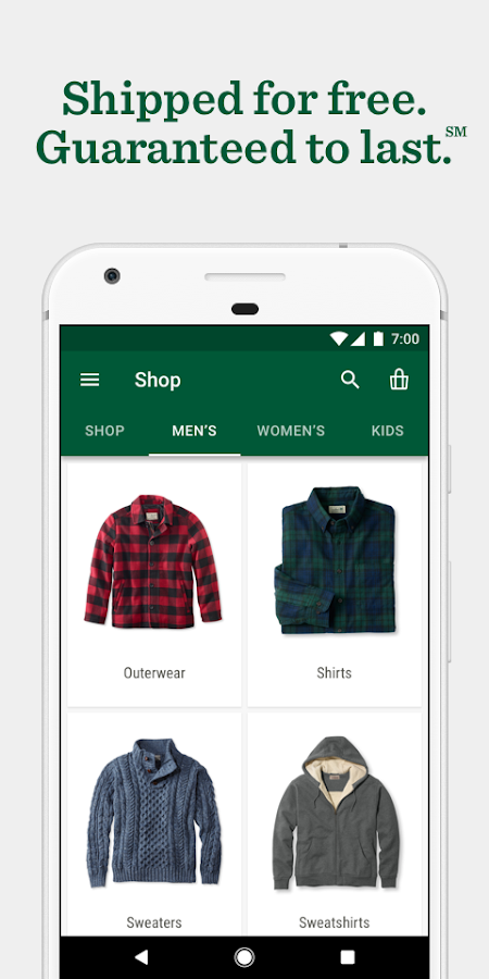 L.L.Bean - Shop Clothes & Gear- screenshot