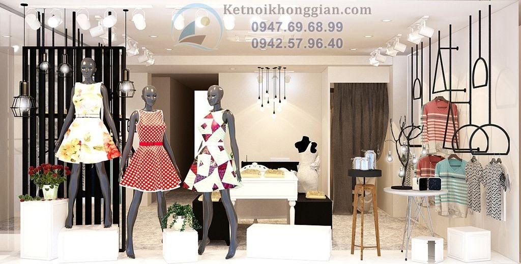 thiết kế shop thời trang nữ đẳng cấp tại Đông Các