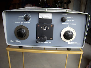 Photo: Maxi-Tuner, encased to match the S-Line.  These were made in the 1970s in either Collins or Heathkit colors.  I've seen them  with and without the meter circuit.