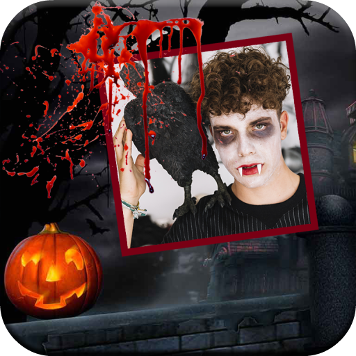 Scary Camera Collage Maker Icon
