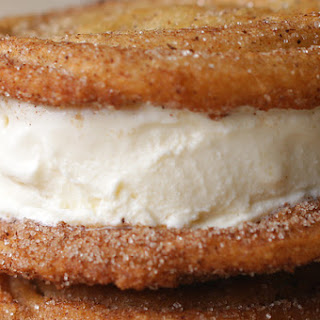 1. Churro Ice Cream Sandwiches