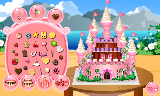 Princess Castle Cake Cooking - náhled