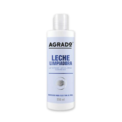 crema facial agrado leche limpiadora 250 ml
