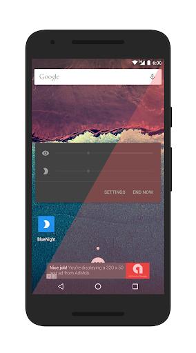 bluenight - screen filter screenshot 1