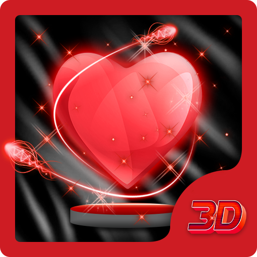 Transparent Heart 3D Theme
