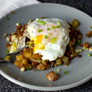 Bacon Corn Hash.