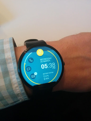 Notifier Watch Face