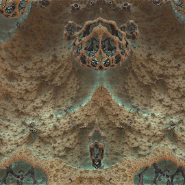 New World Order by Rick Eskridge - Illustration Sci Fi & Fantasy ( fantasy, mb3d, fractal, world, twisted brush )