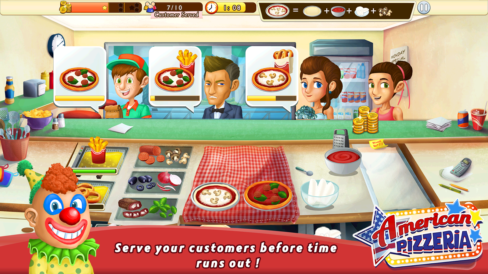 cooking fever cant get gems at casino