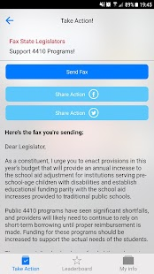 NYSUT Member Action Center- screenshot thumbnail