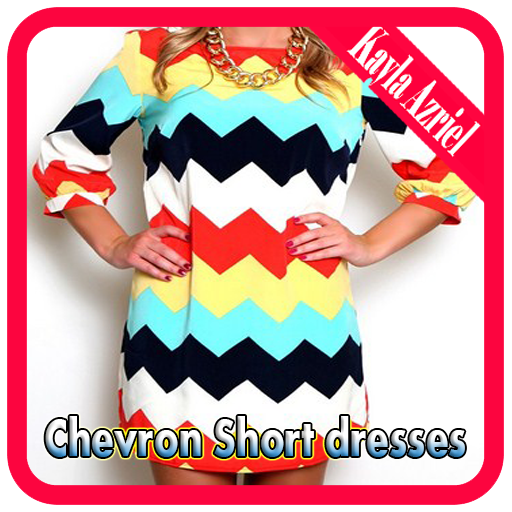 Chevron Short dresses